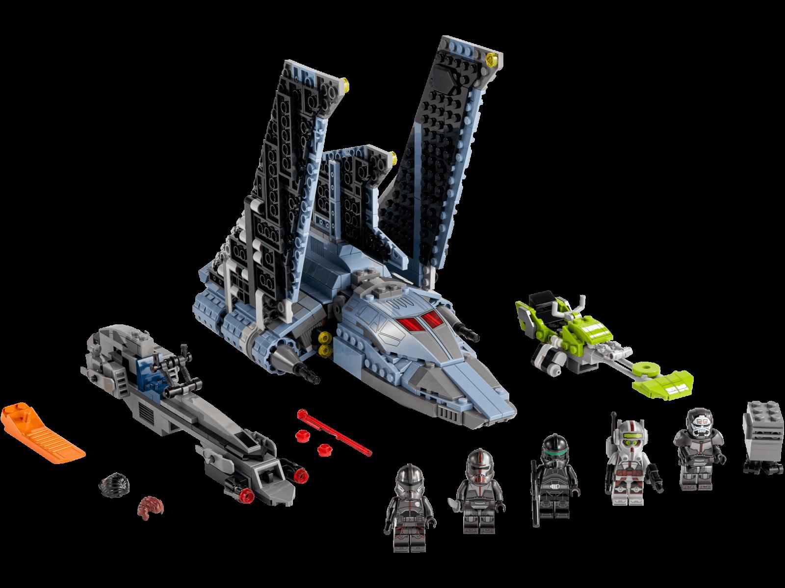 LEGO The Bad Batch™ Attack Shuttle