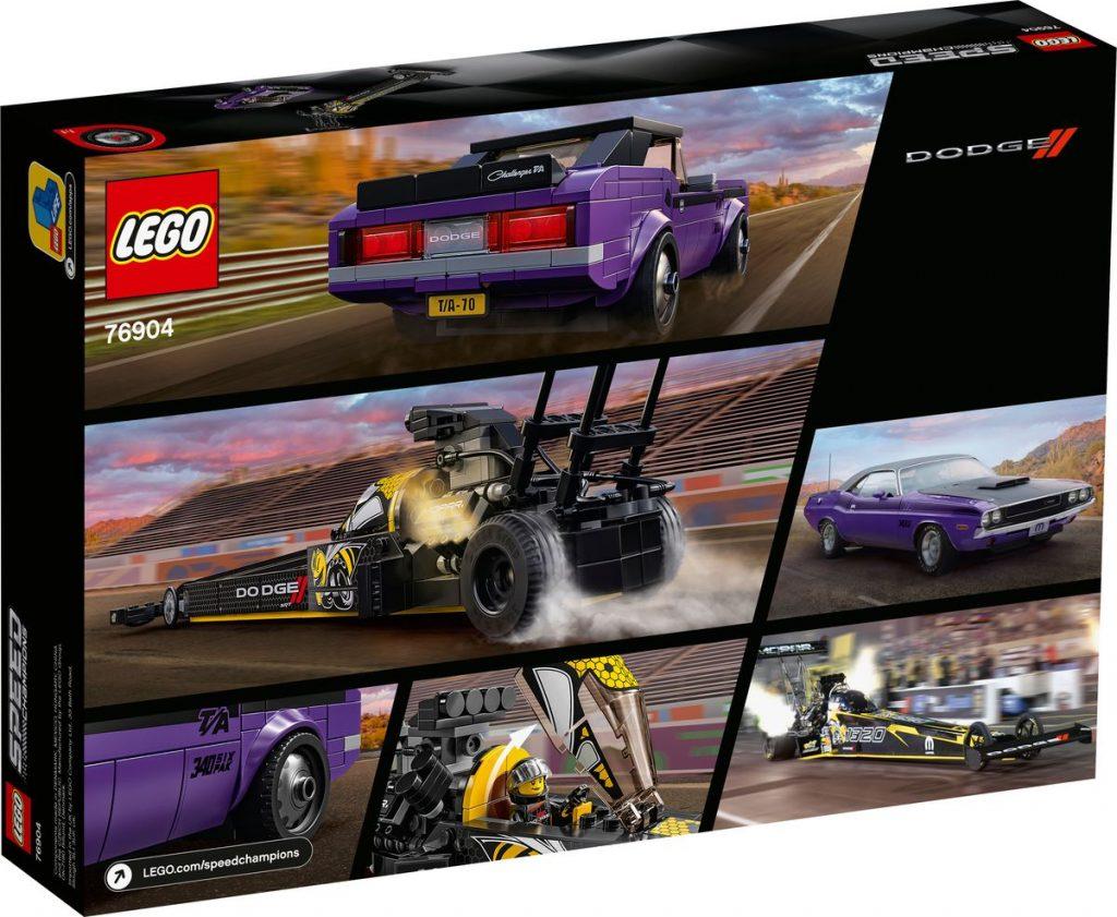 LEGO Speed Champions Dodge