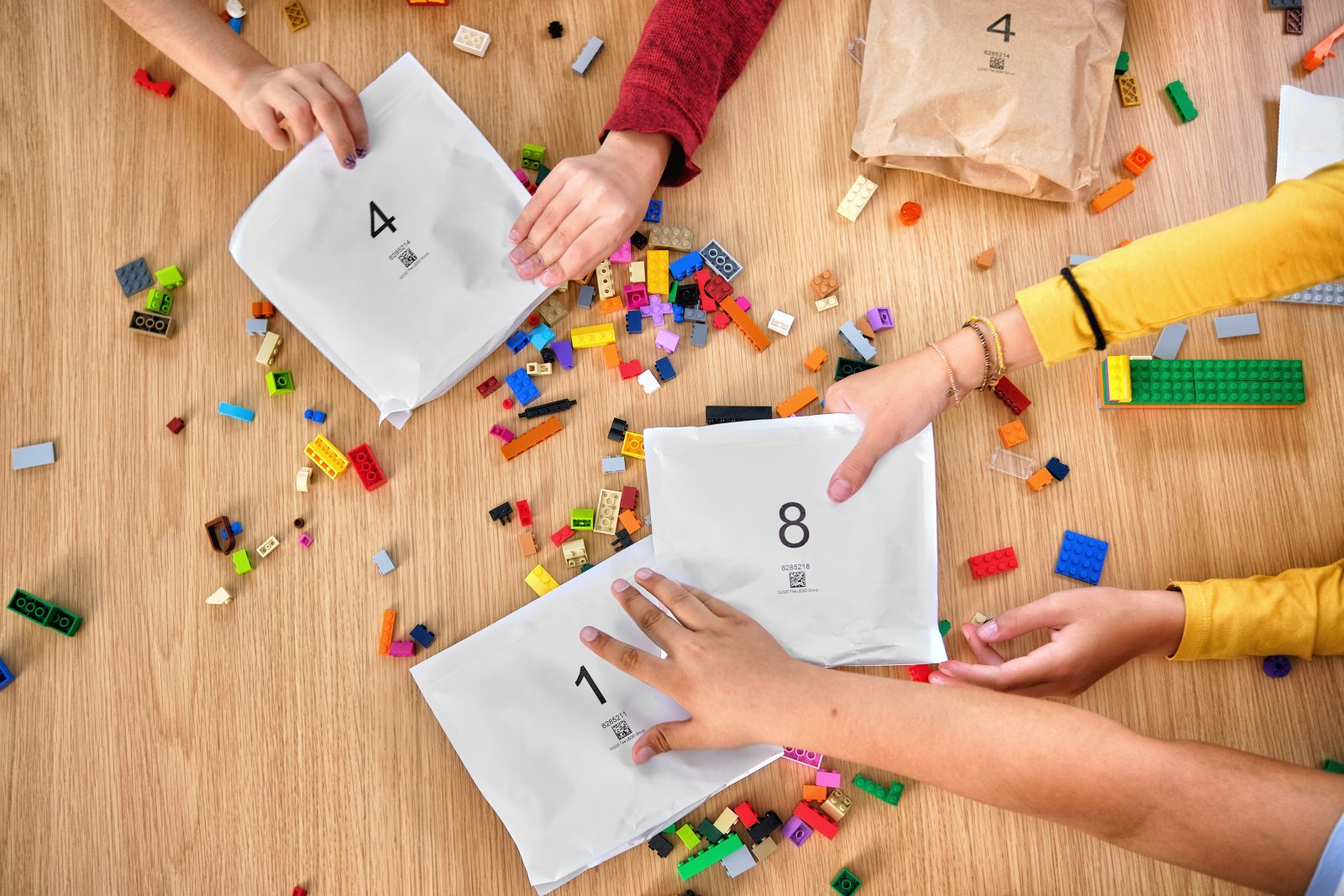 LEGO Paper Bags