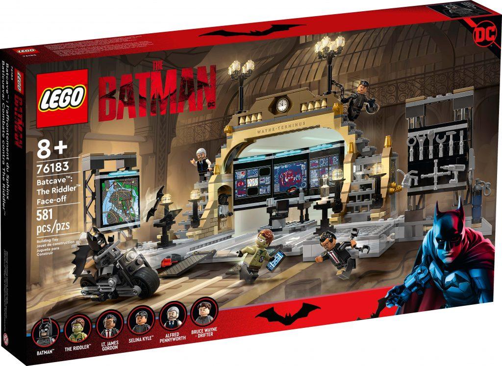 LEGO Batcave™: The Riddler™ Face-off [76183]