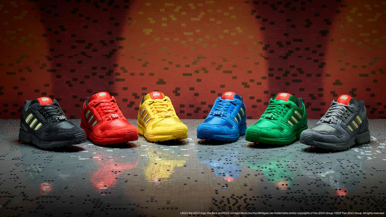 adidas Originals and the LEGO Group Announce the ZX 8000 'Bricks' Collection