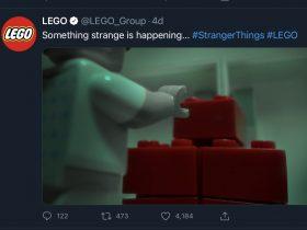 LEGO Stranger Things teaser