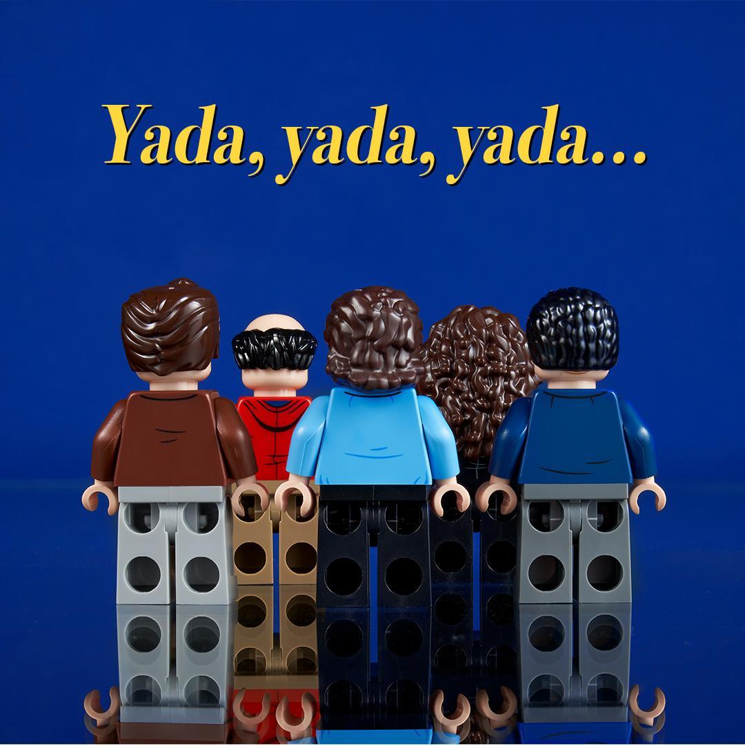 LEGO Ideas Seinfeld set